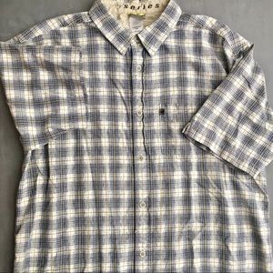 The North Face A5 Button Up SS Collared Top (L)